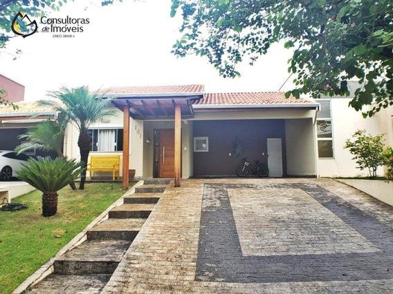 Casa Com 3 Dormitórios À Venda, 170 M² Por R$ 650.000,00 - Condomínio Campos Do Conde - Paulínia/sp - Ca1174