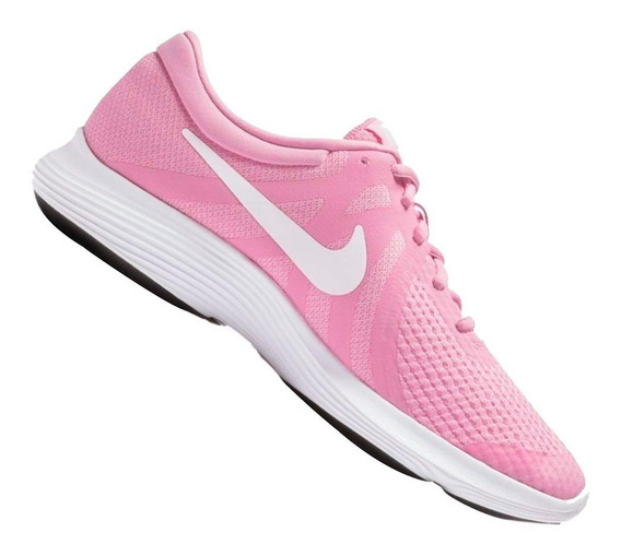 Tênis Nike Infantil Revolution 4 Gs Rosa 943306603 Original