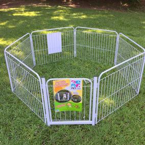 Cercado Cães Canil Pet Cão Cachorro 6/90 +portão+kit Brinde