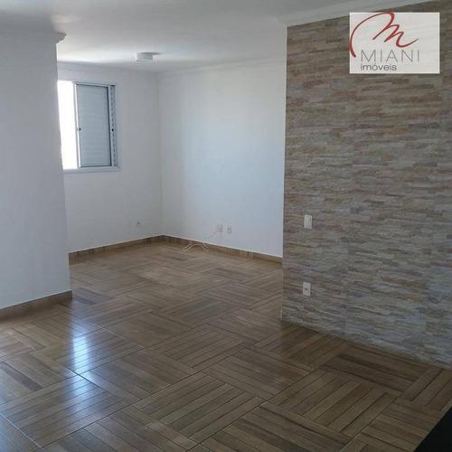 Apartamento Com 2 Dormitórios À Venda, 70 M² Por R$ 350.000,00 - Butantã - São Paulo/sp - Ap7224