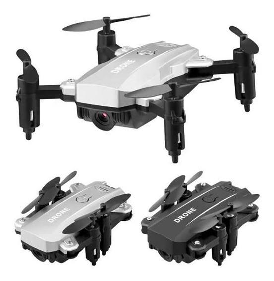 Mini Helicóptero Drone Com Câmera Hd Sem Câmera Dobrável