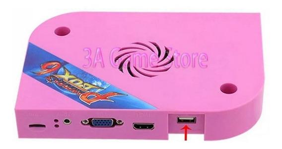 Pandora Box 6 3d 1300 Jogos Original Hdmi Vga Tubo Crt Jamma