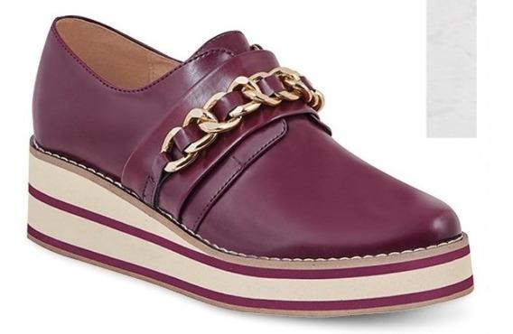 Zapato Comodo Cadena 5 Cm P/dama 13501 Ck O19 Uy4