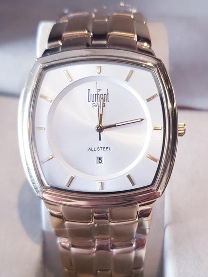 Relógio Masculino Dourado Dumont Sr80080b