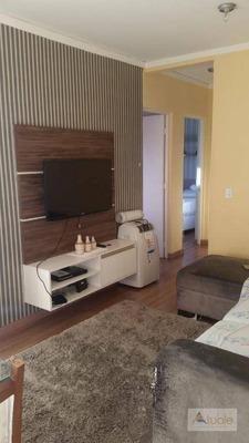 Apartamento Com 2 Dormitórios Para Alugar, 52 M² - Condomínio Porto Feliz - Sumaré/sp - Ap6536