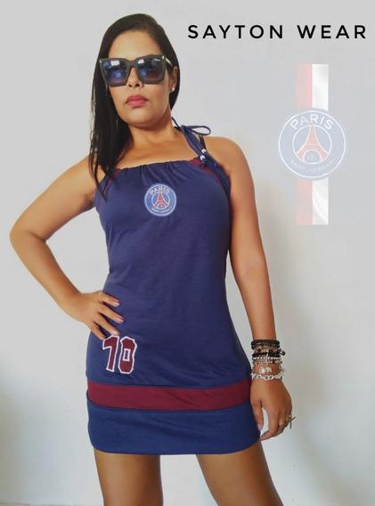 Vestido Feminino Do Paris Saint-germain
