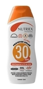 Creme Protetor Solar Nutriex Fps-30 120ml