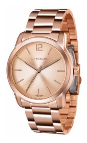 Relógio Marca Lince Cor Rosê
