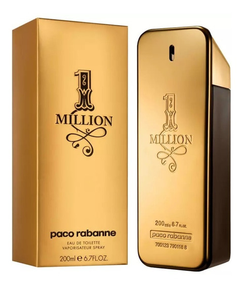 Perfume Paco Rabanne 1 Million 200ml Original Lacrado