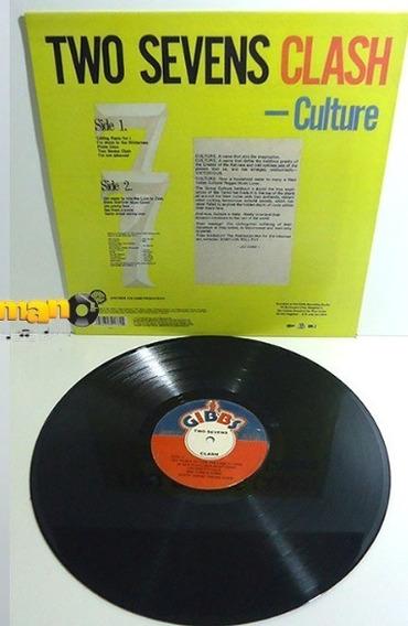 Culture 1977 Two Sevens Clash Lp Jah Pretty Face Importado