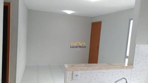Imagem 1 de 11 de Apartamento Com 2 Dormitórios Para Alugar, 48 M² Por R$ 1.000,00/mês - Água Chata - Guarulhos/sp - Ap0694