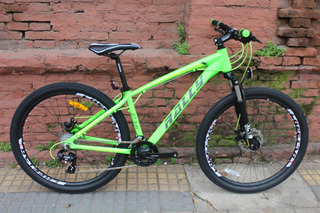 Bicicleta Rally M-2700 Rodado 27.5 24v Disco Planet Cycle