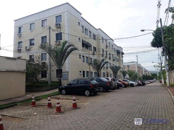 Apartamento Com 2 Dormitórios Para Alugar, 48 M² Por R$ 800/mês - Campo Grande - Rio De Janeiro/rj - Ap0846