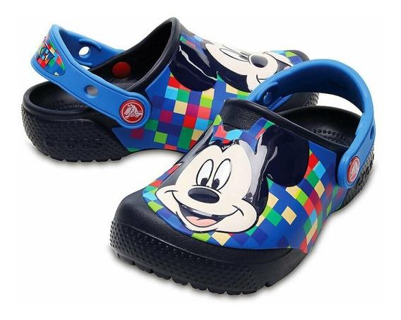 Sandalia Crocs Kids Mickey Clog Original C Nf