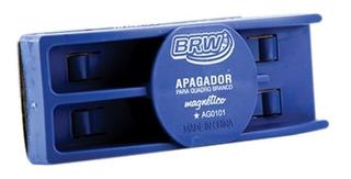 Apagador Para Quadro Branco Magnético Feltro 2mm C/ 5un