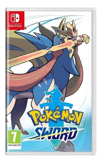 Pokémon Sword Switch Mídia Física Novo Lacrado