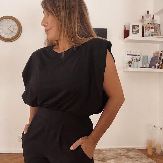 Remera Mujer Lisa Algodon Urbana