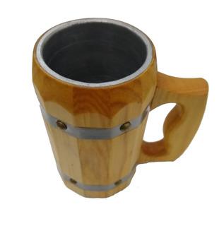 Caneca Medieval - Madeira - Vikings - Cerveja - Hidromel