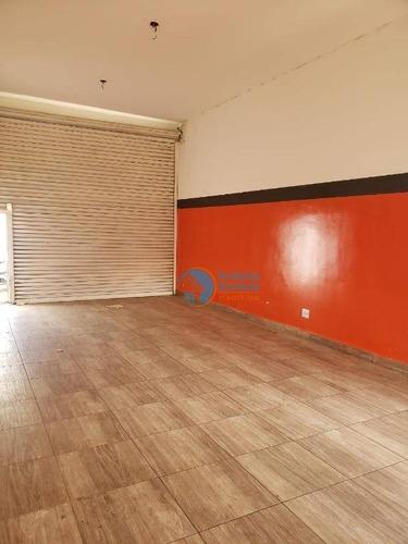 Salão Para Alugar, 70 M² Por R$ 1.600/mês - Portal Dos Ipês Ii - Cajamar/sp - Sl0018