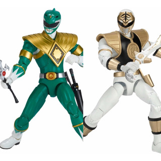 Bandai Power Rangers Limited Edition Green Ranger White Set
