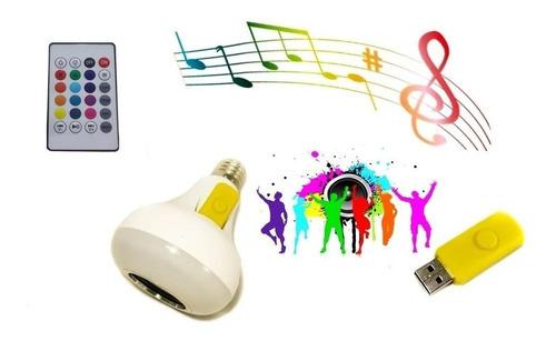 Bombillo Luz Led Musical Con Bluetooth