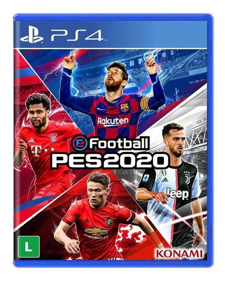 E Football Pro Evolution Soccer 2020 Pes 20 Ps4 Mídia Física