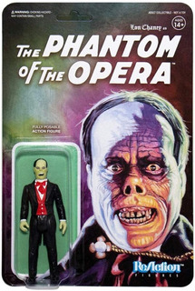 Super 7 Reaction The Phantom Of The Opera Wave 2