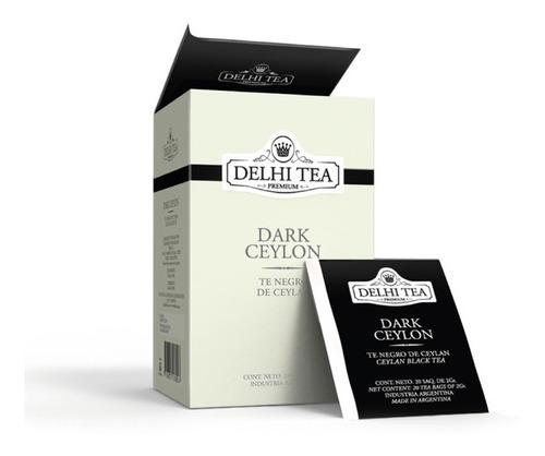 Te Premium Delhi Tea X 20 Saq. Dark Ceylon