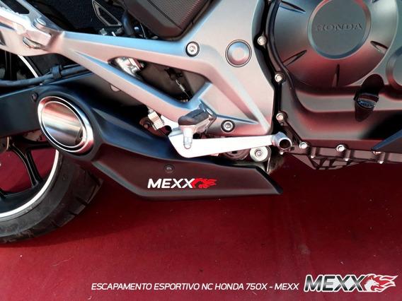 Escapamento Esportivo Honda Nc 750/700 Hurricane - Mexx