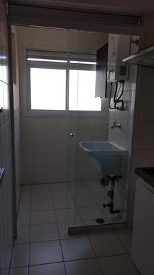 Apartamento Com Varanda Gourmet, 2 Dorms. Sonia80543