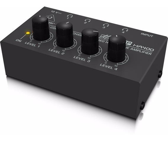 Amplificador De Fones Behringer Power Play Ha400 110v