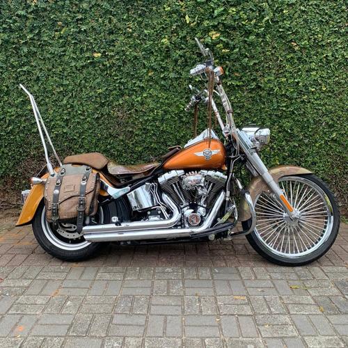 Imagem 1 de 14 de Harley Davidson Fat Boy 1584cc 2014
