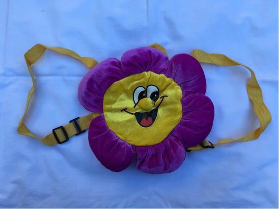 Mochila Infantil Flor