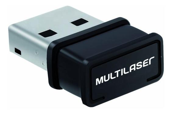 Mini Adaptador Wireless Usb 150 Mbps Multilaser Wifi Re035