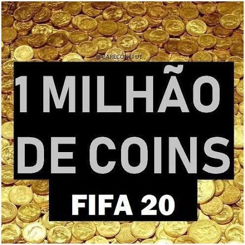 1 Milhão Coins - Fifa 20 Xbox One