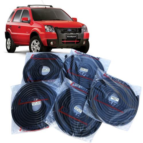 Burletes (kit 5 Unidades) 4 Puertas + Baul Ecosport 2003 Al 2007 +regalo! Silvaflex