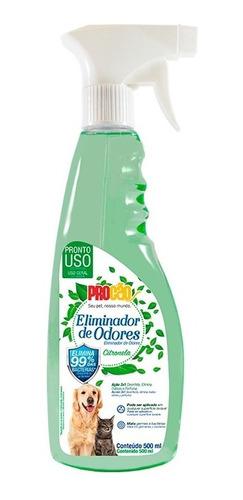 Imagem 1 de 1 de Eliminador De Odores Citronela 500 Ml