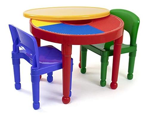Imagen 1 de 5 de Tot Tutors Kids 2-en-1 Mesa De Actividades De Plastico Compa