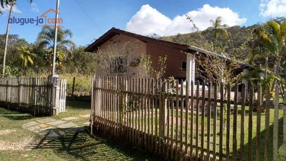 Chácara Com 2 Dormitórios À Venda, 1380 M² Por R$ 296.000,00 - Zona Rural - Monteiro Lobato/sp - Ch0085