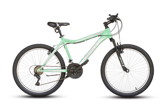 Bicicleta Best De Dama Melia Aro 24 Talla S (17) Verde