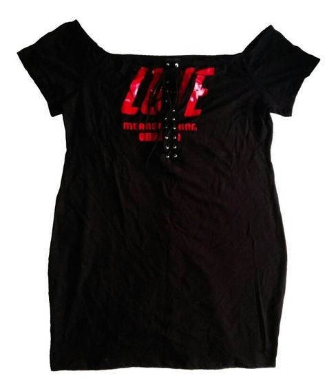 Vestido Corto Mujer 3xl Xxxl Forever21 Regalo Navidad Amor