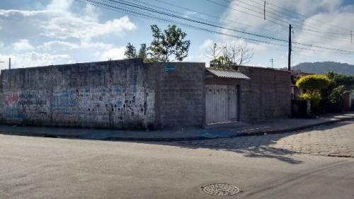Terreno Murado De Esquina No Nova Itanhaém,ref. 4362 M H
