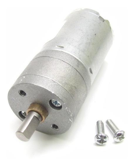 Motor Dc Com Redução 3 A 9v 281rpm 4 Kgf/cm Arduino