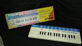 Para Reparar Piano Electronico Casio Sa 7 En Caja