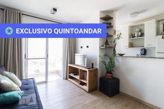 Apartamento No 8º Andar Mobiliado Com 2 Dormitórios E 1 Garagem - Id: 892971106 - 271106
