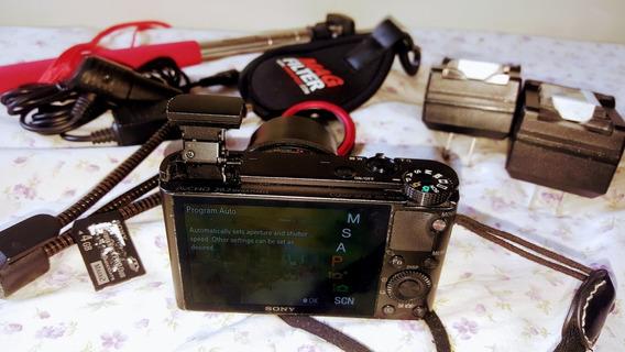 Câmera Sony Rx100 I [carregador/bateria, Polarizador, Tripé]