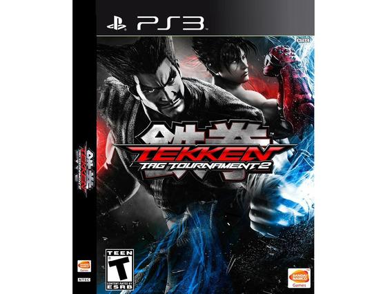 Jogo Ps3 Tekken Tag Tournament 2 Midia Digital Psn Envio Ja