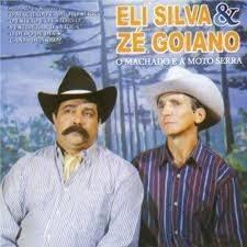 Cd Eli Silva E Zé Goiano - O Machado E A Eli Silva E Zé Goi