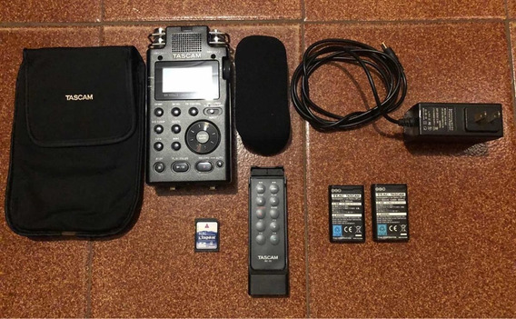 Gravador Digital Portátil Tascam Dr-100mkii