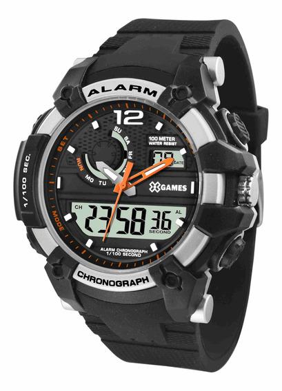 Relógio Xgames Anadigi - Xmppa272 Bxpx C/ Nf E Garantia O